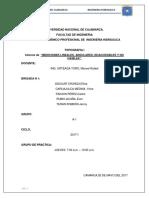 Alineamientos y Mediciones de Distancias y Mediciones Angulares