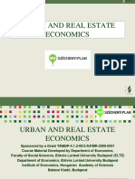 urban and real esate ceconomics