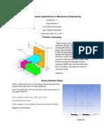 ME 472 Computer Applications in Mechanical Engineering(Şarmutah)