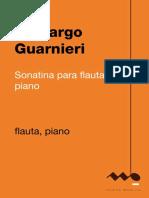 Camargo Guarnieri Sonatina Para Flauta e Piano