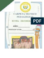 Carpeta Didactica
