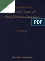 Derecho a La Autodeterminacion