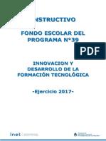 Doc Descrip Fondo Escolar Programa 39