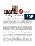 The Reformation (500 Years Later)