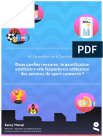 [Mémoire/Thesis] Gamification & Quantified-Self