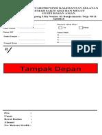 formulir resep