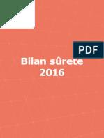 Bilan Surete 2016