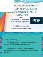 10. Ejaan Bahasa Indonesia (PPT)