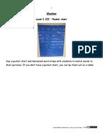 4Weather Level I-III Pocket Chart