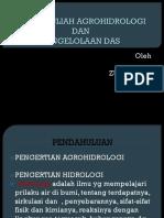 Bahan Kuliah Agrohidrologi (Pendahuluan)