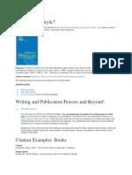 APA Formats
