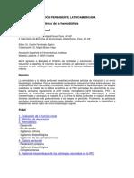 Control Clinico - Analitico en Hemodialisis