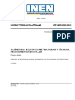 Norma Tecnica Ecuatoriana
