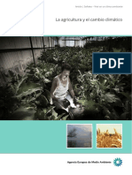 La Agricultura y El Cambio Climatico