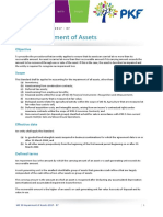 Ias 36 Impairment of Assets Summary