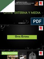 Otitis Externa y Media Seminario Nuevo