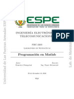 Programación Matlab - Manipulación de Matrices 2/2