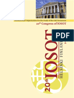 20th IOSOT - 2010