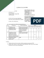Laporan Evaluasi Diri - Ardy