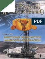 Directorio de Proyectos Mineros en Exploración Cap7