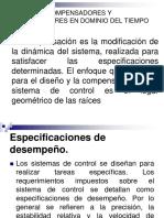 1.1-TEC.diseño de Compensadores en El Dominio Del Tiempo