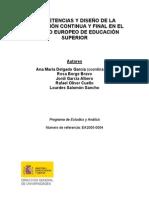 Competencias y diseño de evaluación