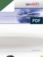 Cyber Shift 2010 Corporate Brochure