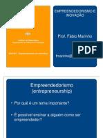 Empreendedorismo - AULA1