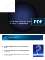 06.Cloud Computing y Las PyME