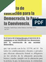 Proyecto de Democracia