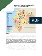 Nacionalidades y Pueblos de La Región Costa