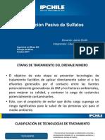 Extracción Pasiva de Sulfatos