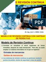 Modelo de Revision Continua-Inventarios