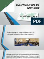 Los Principios de Unidroit