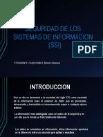 Seguridad de Sistema de Informacion