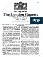 London Gazette 38183 Despatch on the Far East 1940 Oct. 17-1941 Dec. 27, by Air Chief Marshal Sir Robert Brooke-Popham, Commander-in-Chief, Far East.pdf