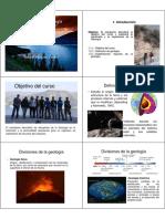 Definicion de geología