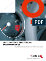 Automotive Electrical Disturbances