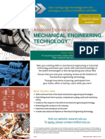 EIT Adv Dip Mechanical Engineering Technology
