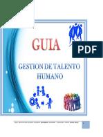 Guia de Talento Humano Producto Terminado