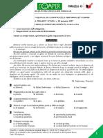 Subiect ComperComunicare EtapaI 2016 2017 ClasaIV