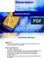 6CN010 - LECTURE - Literature Review 2013-14