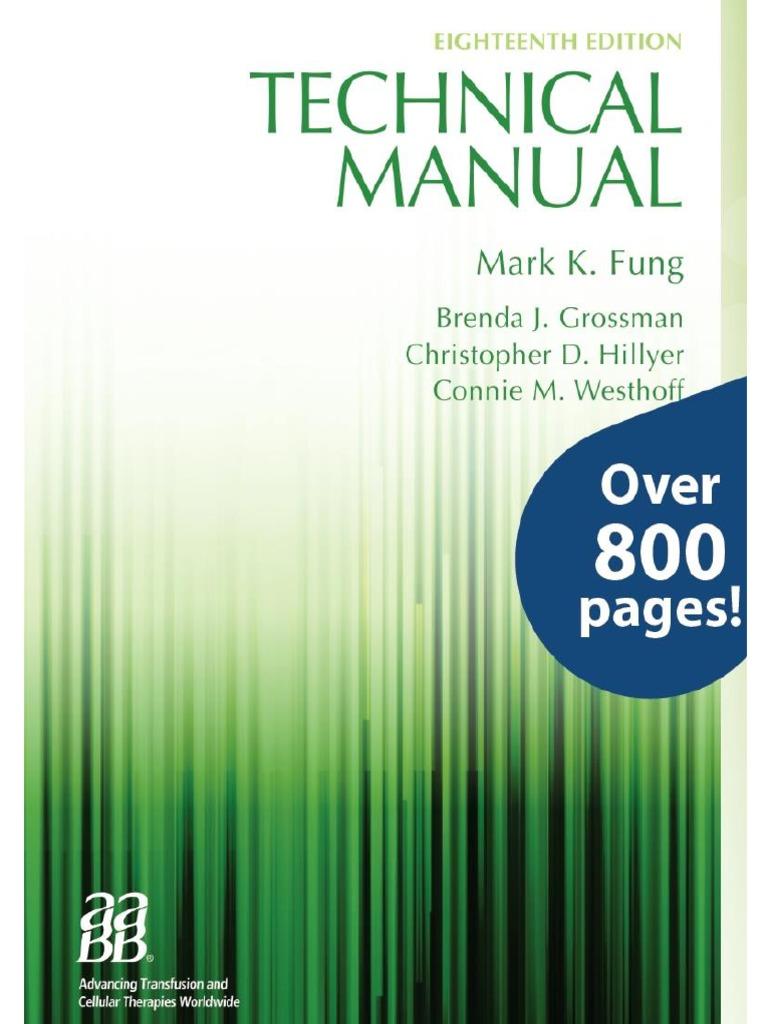 aabb technical manual 18th edition.html