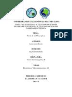 Teoria de Las Fibras Opticas-Jasson Lindao