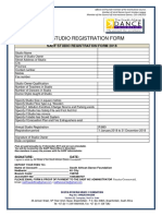 SADF WC Studio Registration 2018