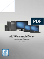 Commercial Comparison Catalogue