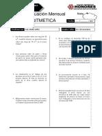 4 Examen Mensual 4 Sec ARIT RM BREÑA