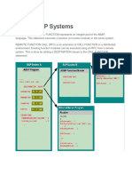 RFC in SAP Systems