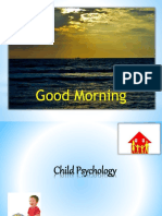 Theories of Child Psychology