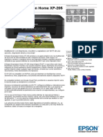 Epson Expression Home XP 205 Datasheet